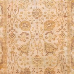 """Hand Knotted Cesena  Semi-Worsted New Zealand Wool Rug ( 5'6"""" x 8'6"""" ) - Thumbnail 2"""