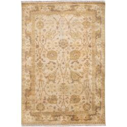 Hand Knotted Cesena Semi-Worsted New Zealand Wool Area Rug (5'6 x 8'6) - Thumbnail 0