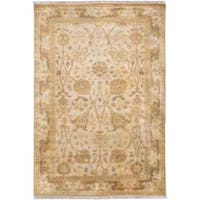 Hand Knotted Cesena Semi-Worsted New Zealand Wool Area Rug (5'6 x 8'6)