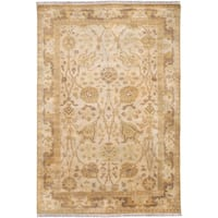 Hand Knotted Cesena Semi-Worsted New Zealand Wool Area Rug - 5'6 x 8'6