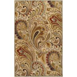 Hand Tufted Foligno  Wool Rug ( 5' x 8' )