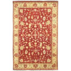 Hand Knotted Antolya Semi-Worsted New Zealand Wool Area Rug (5'6 x 8'6) - Thumbnail 0