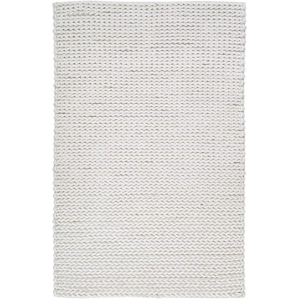 Hand-woven Trento Braided Texture New Zealand Wool Area Rug (5' x 8')