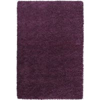 Hand-woven Lucca Colorful Plush Shag New Zealand Felted Wool Area Rug - 9' x 13'