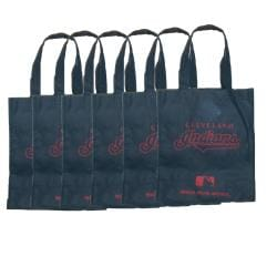 Cleveland Indians Reusable Bags (Pack of 6) - Thumbnail 0