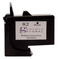 Lexmark 82 Black Ink Cartridge (Remanufactured)