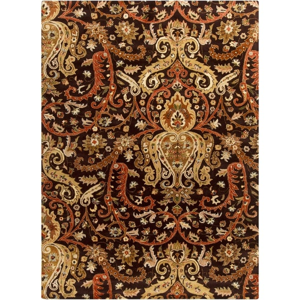 Hand Tufted Padua Semi-Worsted New Zealand Wool Area Rug - 8' x 11'