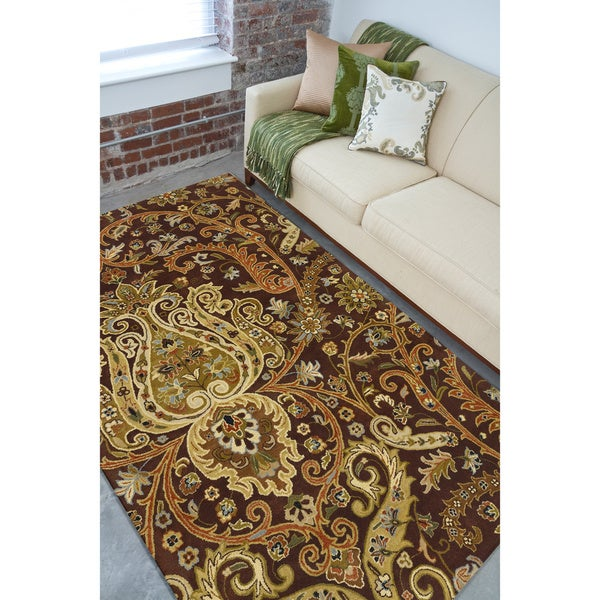 Hand Tufted Padua Semi-Worsted New Zealand Wool Rug ( 8' x 11' )