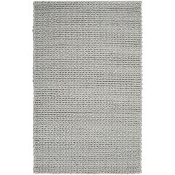 Hand-woven Novara Braided Texture New Zealand Wool Rug (8' x 11')