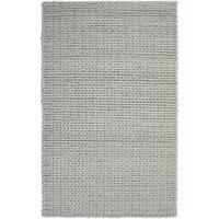 Hand-woven Novara Braided Texture New Zealand Wool Area Rug (8' x 11')