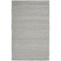 Hand-woven Bolzano Braided Texture New Zealand Wool Area Rug - 9' x 12'