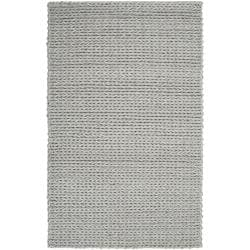 Hand-woven Terni Braided Texture New Zealand Wool Rug ( 5' x 8' )
