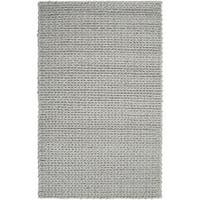 Hand-woven Terni Braided Texture New Zealand Wool Area Rug - 5' x 8'