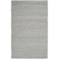 Hand Woven Terni Braided Texture New Zealand Wool Area Rug 5 X 8