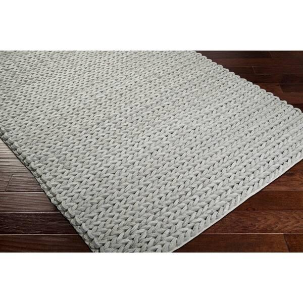 Hand Woven Terni Braided Texture New Zealand Wool Area