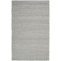 Hand-woven Terni Braided Texture New Zealand Wool Area Rug - 5' x 8'