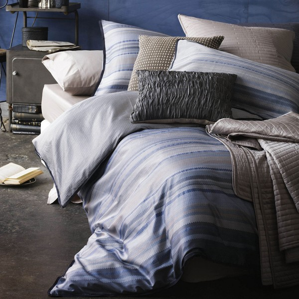 Enna Cotton 3-piece Queen-size Duvet Cover Set