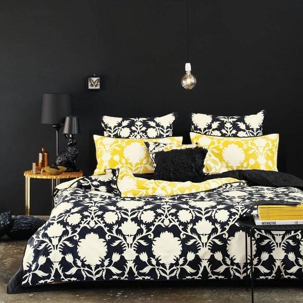 Sienna Cotton Sateen 3-piece King-size Duvet Cover Set