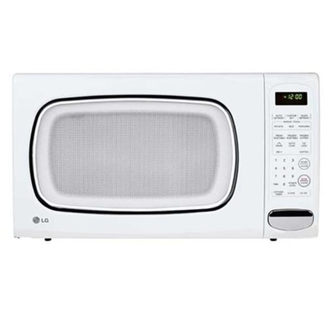 LG LCS1410SW White 1.4 Cu ft Countertop Microwave Oven (Refurbished)