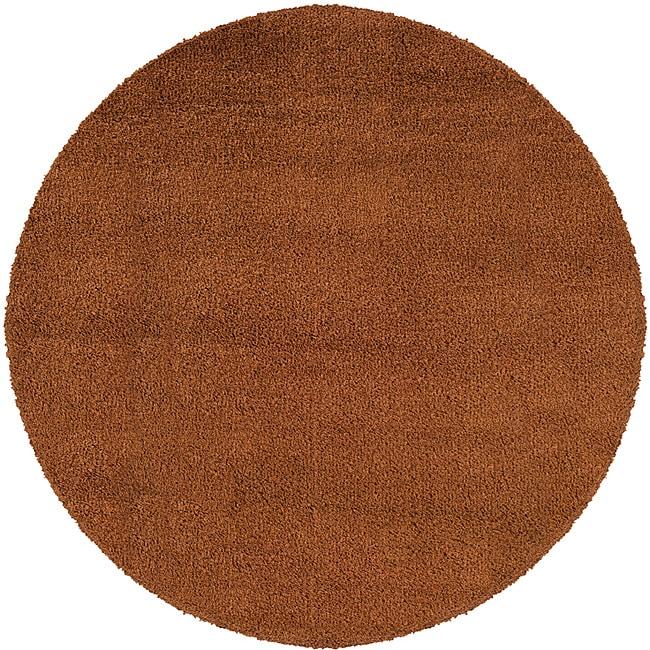 Manhattan Rust Area Rug (8' Round)