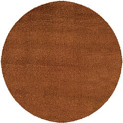 Manhattan Rust Area Rug (8' Round) (As Is Item)