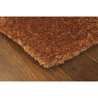 Manhattan Rust Area Rug - 7'10 x 11'2