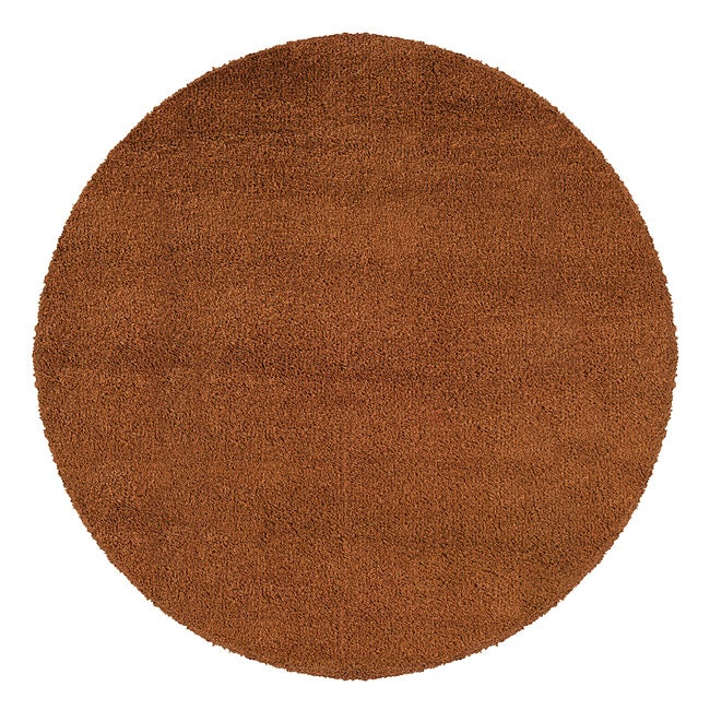 Manhattan Rust Area Rug (6' Round)