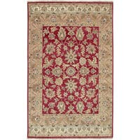 Hand-knotted Timeless New Zealand Hard Twist Wool Area Rug - 9' x 13'