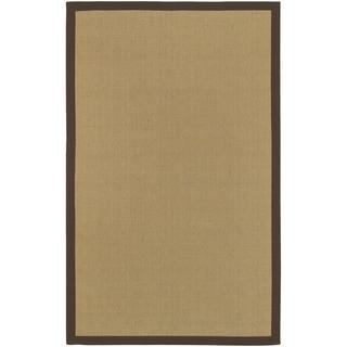 Hand-woven Manzano Natural Fiber Jute Rug (8' x 10')