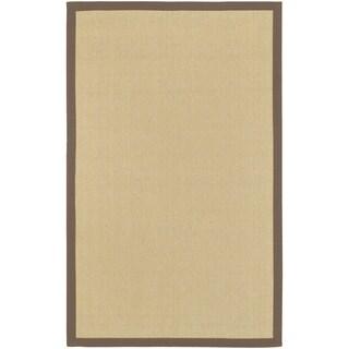 Hand-woven Manzano Natural Fiber Jute Rug (9' x 13')