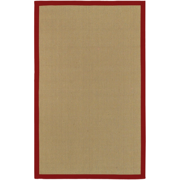 Hand-woven Olympic Natural Fiber Jute Area Rug - 8' x 10'
