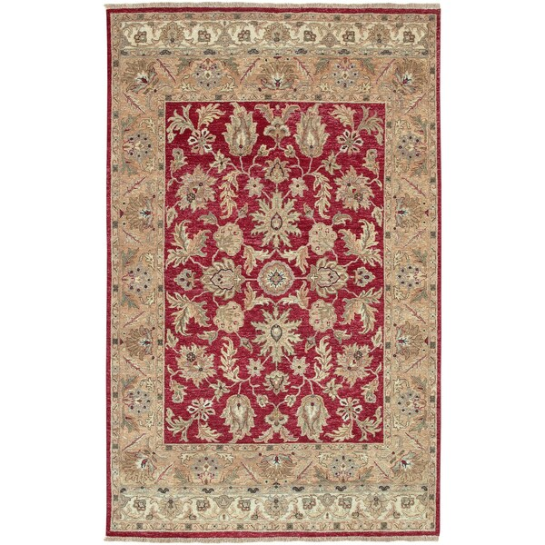 Hand-knotted Timeless New Zealand Hard Twist Wool Area Rug - 8' X 11'