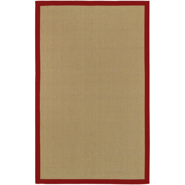 Hand-woven Olympic Natural Fiber Jute Area Rug - 9' x 13'