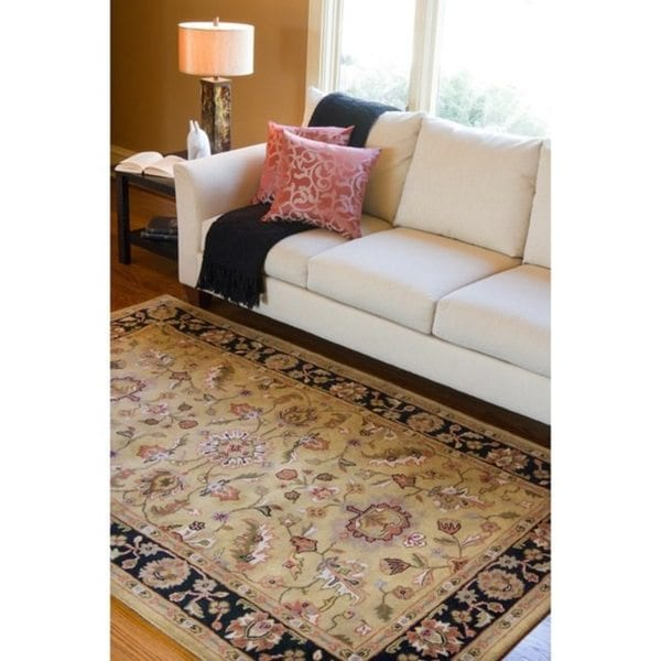 Hand-tufted Paradiso Wool Area Rug (5' x 8')