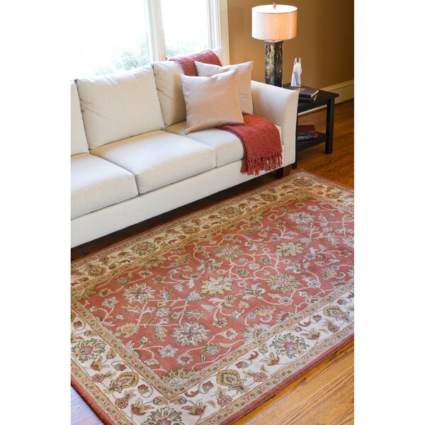 Hand-tufted Bernese Wool Area Rug - 5' x 8'