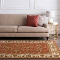 Hand-tufted Bernese Wool Area Rug - 4' x 6'