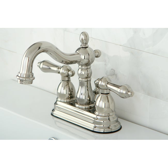 Superieur Heritage Polished Nickel Bathroom Faucet