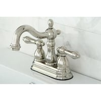 Shop Satin Nickel English Bathroom Faucet Free Shipping Today - Bathroom faucets on sale