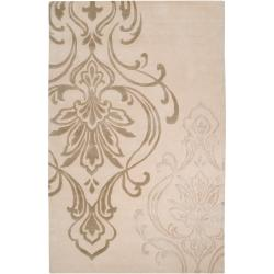 Silver Orchid Granada Hand-tufted New Zealand Wool Area Rug - 9' x 13' - Thumbnail 0