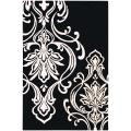 Hand-tufted Tux Damask Pattern Wool Area Rug - 9' x 13'