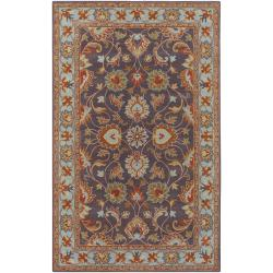Hand-tufted Akaishi Wool Area Rug (9' x 12') - Thumbnail 0