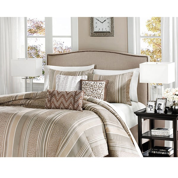 Madison Park Rollins 6-piece Duvet Cover Set