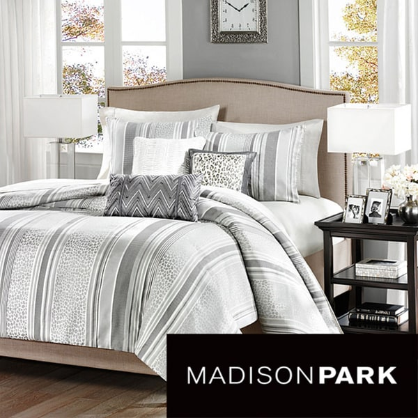 Madison Park Lansing 6-piece Duvet Cover Set