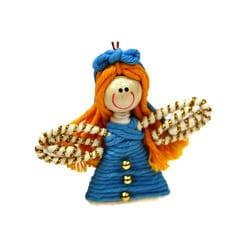 Yarn Fairy Ornament (Colombia)