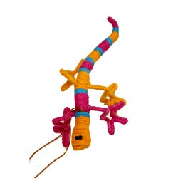 Yarn Chameleon Ornament (Colombia)