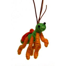 Yarn Mantis Ornament (Colombia)