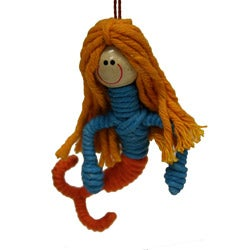 Yarn Mermaid Ornament (Colombia)