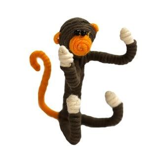 Yarn Monkey Ornament (Colombia)