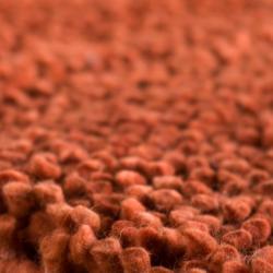 Hand-woven Asti Colorful Plush Shag New Zealand Felted Wool Rug ( 3'6 x 5'6 )