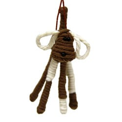 Yarn Dog Ornament (Colombia)